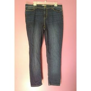 J. Jill jeans authentic slim ankle fit size 16